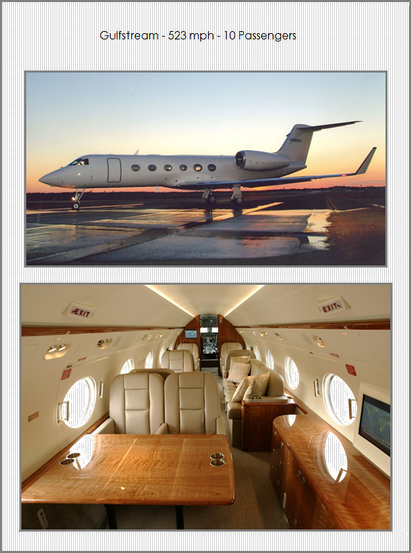 Jet Charters Planes - Gulfstream IV